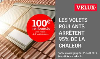 VELUX® VOUS REMBOURSE JUSQU'À 100 €*