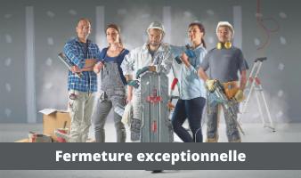 FERMETURES EXCEPTIONNELLES FIN D'ANNÉE 2020