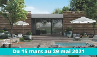 PROMOTION AMÉNAGEMENT EXTÉRIEUR DU 15 MARS AU 29 MAI 2021